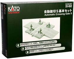 Kato N Scale Automatic Level Crossing S Basic Set Railway Model Supplies 20-652