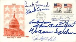 HALL OF FAME BASEBALL - FIRST DAY COVER SIGNED WITH CO-SIGNERS