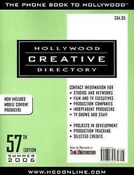 Hollywood Creative Directory By Hollywood Creative Directory Staff