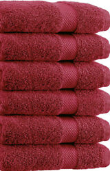 SPRINGFIELD LINEN Premium 100% Cotton Soft Bath Towels 27quot;X54quot; SET OF 6 Pieces $19.99