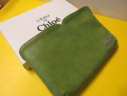 1 x CHLOE Small Bag for women#x27;s size 6 x 4 with Zipper 100% auth NEW $18.00
