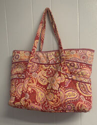 Vera Bradley 4 Piece Set Pink Bags Tote Shoulder Bag $30.00