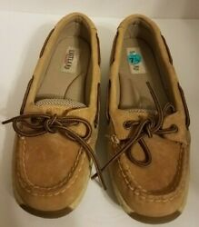 Womens Eastland Sunrise Boat Shoe Loafers Size 7.5M Leather Uppers