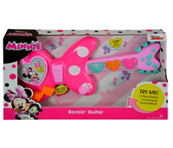 Minnie Mouse Disney Junior Bow-tique Rockinand039 Pink Guitar Instrument Play Set