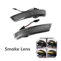 Led Turn Signal Light Side Rearview Mirror Dynamic For Ford Focus 2 3 Mk2 Mondeo