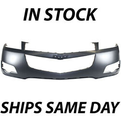 New Primered Front Upper Bumper Cover Fascia For 2009-2012 Chevy Traverse 09-12