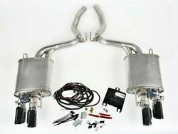 Ford Mustang 5.0l V8 2018-2020 Roush Active Exhaust Kit