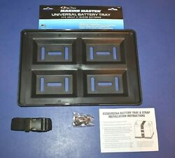 Universal Group 24 Battery Tray Marine Master For Boat Rv 11 1/2 X 8 1/2