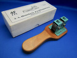 J.a. Henckels Antique Knife Sharpener No10 1930and039s Made In Solingen Germany Used