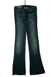 7 For All Mankind Kaylie Ladies Bootcut Stretch Jeans Pants W24 L32 Blue New GS5