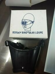 Berger Binocular Head Loupe Other Medical And Lab Equipment