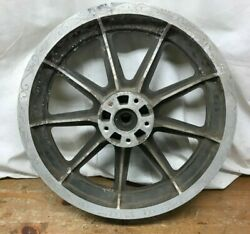 Harley Oem Part Rear Wheel 9 Spoke Mag Fx And Xl Models 71 And Ltr 43537-75 Rear