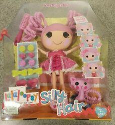 Lalaloopsy Silly Hair Doll Jewel Sparkles Sew Magical Sew Cute New / Box Damaged