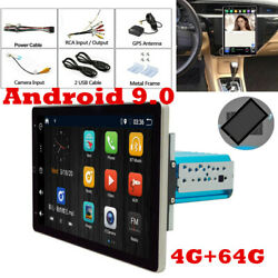 Android 9.0 Hd 10.1in 4g+64g Car Stereo Radio Player Wifi Gps Mirror Link Obd