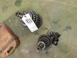 Allis Chalmers D19 Tractor Two Sets Of Transmission Shafts And Gears Tag 816