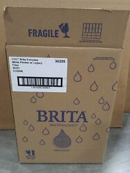 Brita 10060258362050 Large 10 Cup Everyday Water Pitcher with Filter - BPA Free