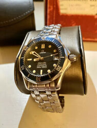 Omega Seamaster 36mm 2551.80.00 Stainless Steel Blue Automatic