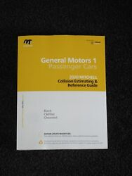 Mitchell Collision Estimating Reference Guide Gm Cars Cadillac Chevy May 2020