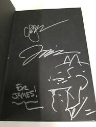Justice League New 52 Hc Vol 1 Signed And Original Art Jim Lee/signed Geoff Johns