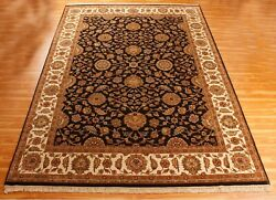 9x12 Hand Knotted Wool And039reevaand039 Area Rug Indian Handmade Oriental New Carpet