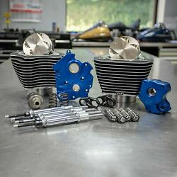 Sands 107-124 M8 Harley Big Bore Power Package, 550c, Water Cooled, Chrome 17-20