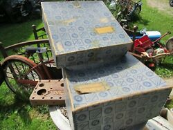Antique Vintage Packard Motor Car Packaging Shipping Parts Box 1944/45