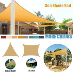 Sun Shade Sail Outdoor Waterproof Awning Canopy Shelter Patio Cover 98 Uv Block