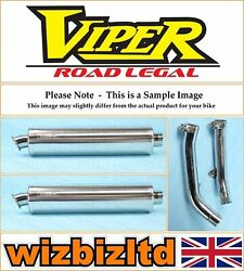 Honda Vtr1000 Sp2 2002-2003 [street Exhaust End Can With Link Pipe] Vex1280