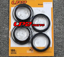 Fork Dust Wiper Seals Rebuild Kit 4 Pack For Harley Davidson Flstc 1690 Bwv 2015