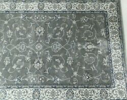 Kenneth Mink Home Largo 3and039 3 X 5and039 3 Gray Rectangular Area Rug Made In Usa