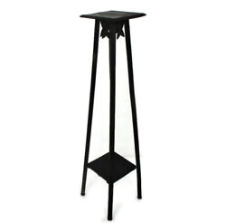 Art Nouveau Pedestal Table Plant Flower Stand Side Table Two Tier Barn 39.3