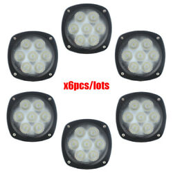 Led Compact Floodlight For New Holland Tractor H8040,h8000++ X6pcs/lot