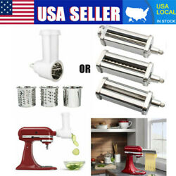 Kitchen Prep Slicer And Pasta Roller Cutter Attachment For Kitchenaid Stand Mixer