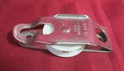 Sailboat Sail Boat Cheek Block Dinghy Yacht 1 1/4 Fico Fg 675 Line Stainless S