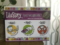 Illustory Make Your Own Book Diy Kids Craft From Lulu Jr. - Brand New