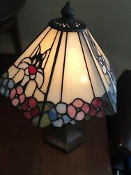 Vintage Dale Lamp Looney Tunes Stained Glass Warner Brothers Sylvester