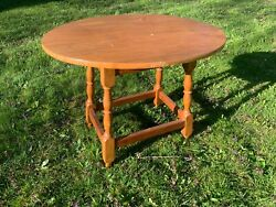 Vinage Cohassett Colonial Cohasset Hagerty Oval Table Henry Ford Museum