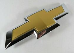 Chevy Traverse Grille Emblem 18-20 Front Grill Oem Gold Badge Sign Symbol Logo