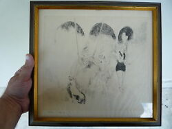 Drypoint Circus Etching By Marie Laurencin X / 110