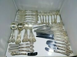 Reed And Barton Francis 1 6 Piece Place Setting For 8 W 5 Serving Pieces
