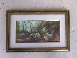Vintage Florida Everglades Painting By Dorothy Starbuck 2