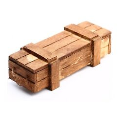 116 Torro Rc Tank One Wooden Ammo Crate Box