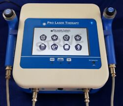 Physiotherapy Machine Low Level Laser Therapy 2 Probes Red And Ir Laser Therapy