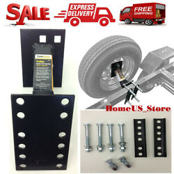 Spare Tire Wheel Mount - Boat And Utility Enclosed Trailer Bracket Carrier