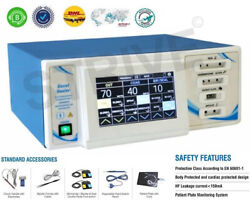 Electrosurgical Sealer Generator Vessel Sealing System 400w Touch Screen Display