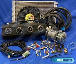 A/c Kit Universal Underdash Evaporator 12v 450-csl And Elec. Harness Special Vents