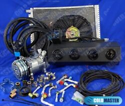 A/c Kit Universal Underdash Evaporator 12v 450-bsl And Elec. Harness Special Vents