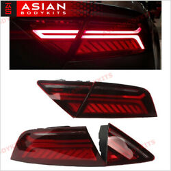 Lci Facelift Style Tail Light For Audi A7 S7 Rs7 2012-2014 W/ Sequential Led