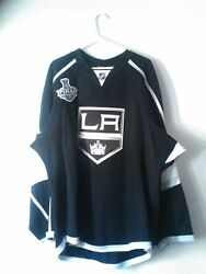 Los Angeles Kings Player Worn Jersey Size 58 Nwt And Certificate Of Authenticity
