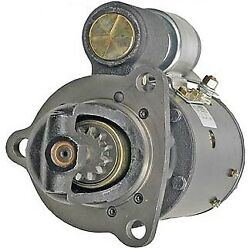 New 12 Tooth Cw Starter Fits 74-79 Allis Chalmers Power Unit D-175 D-262 1113216